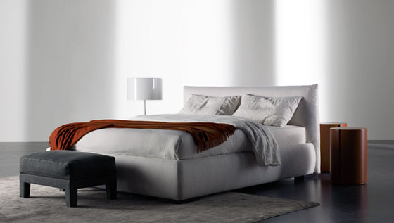 Scott Bed by Meridiani | Double beds