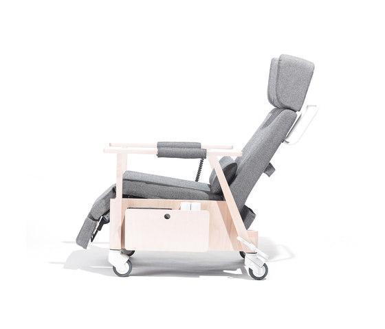 Santiago Recliner armchair de TON | Elderly care armchairs
