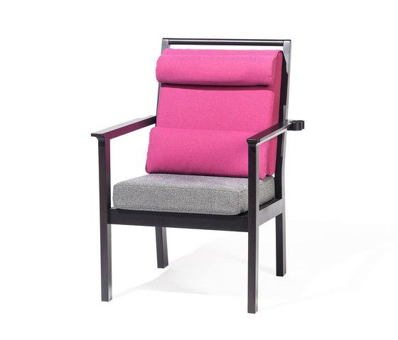 Santiago Single armchair de TON   Elderly care armchairs