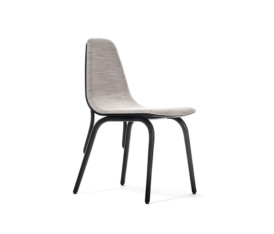 Tram chair upholstered by TON | Restaurant chairs