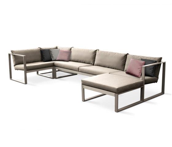 Cima Lounge Modular Lounge von FueraDentro | Gartensofas