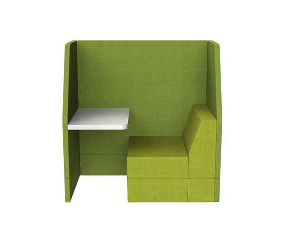 Bricks Workspot by Palau | Lounge-work seating