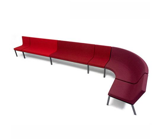 Flow Lounge de Magnus Olesen | Sièges modulaires