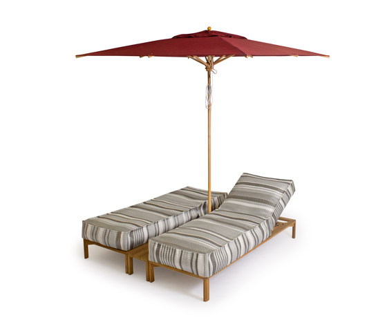 Newport Double Sun lounger by Weishäupl | Sun loungers