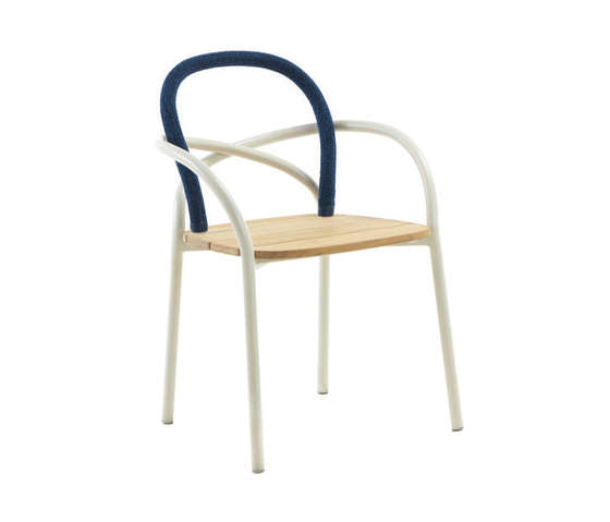 Les Arcs Chair by Unopiù | Garden chairs