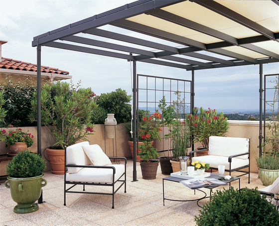 avantgarde pergola de unopi pergolas architonic. Black Bedroom Furniture Sets. Home Design Ideas