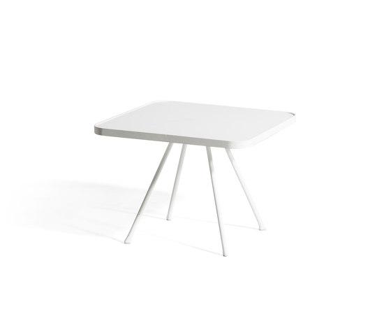 Attol Aluminum Side Table von Oasiq | Garten-Beistelltische