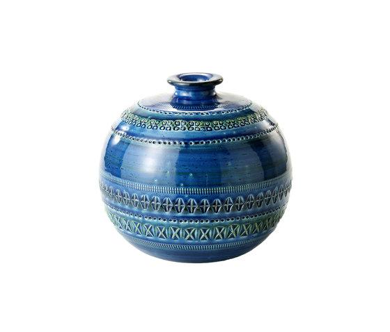 Rimini Blu Vaso a palla by Bitossi Ceramiche | Vases