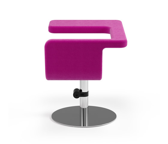Clip easy chair by Materia | Lounge-work seating