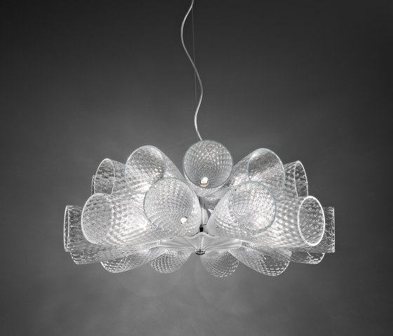 Cheers Hanging Lamp 12+12 by ITALAMP | General lighting