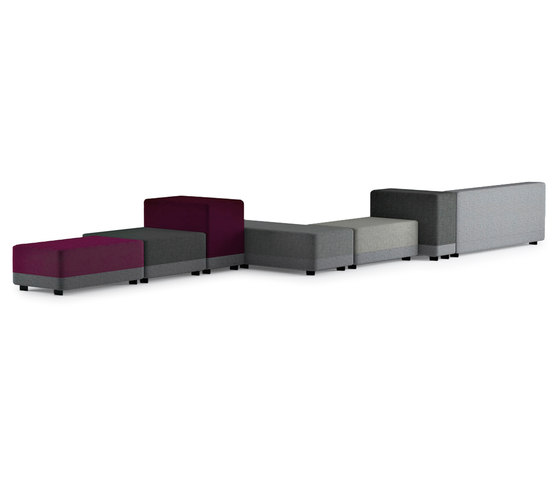 Courage by Mitab | Modular seating systems