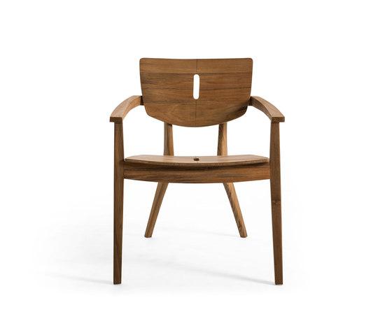 Diuna Lounge Armchair de Oasiq | Sillones de jardín