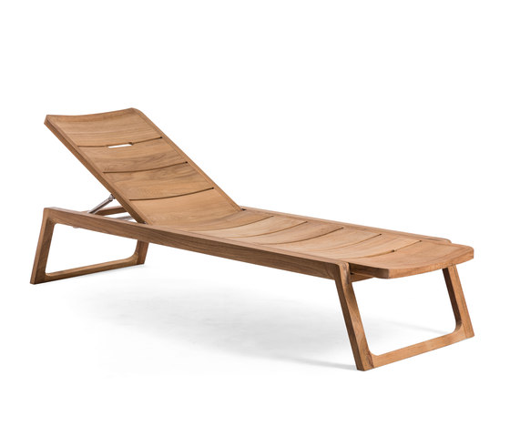 Diuna Adjustable Lounger by Oasiq | Sun loungers
