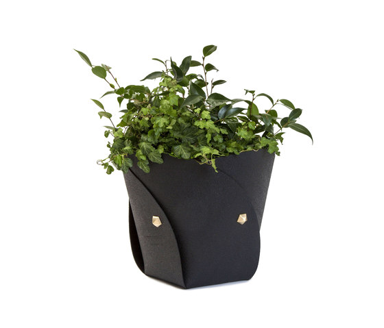Poppy basket rubber di Klong | Contenore / Vasi per piante