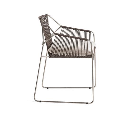 Sandur Armchair Full Woven by Oasiq | Garden chairs