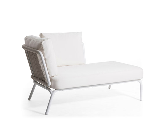 Yland Lounge Arm Left by Oasiq | Garden armchairs