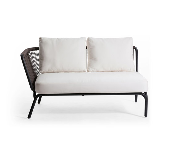Yland 2 Seater Arm Left by Oasiq | Garden sofas