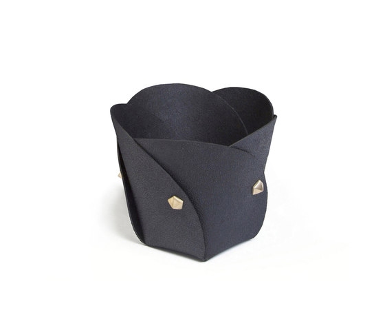 Poppy basket rubber by Klong | Storage boxes