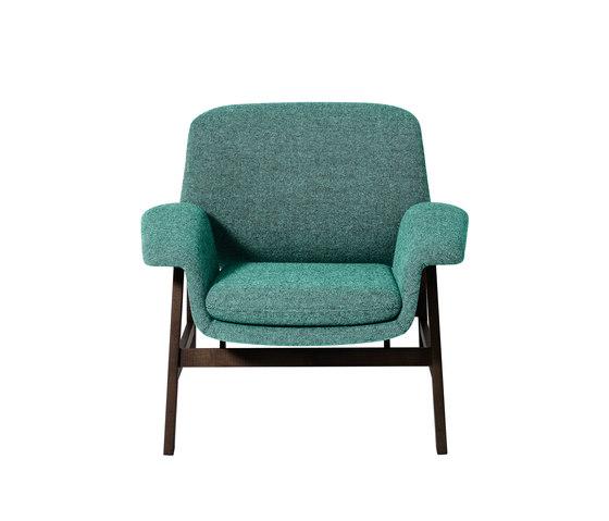 Agnese by Tacchini Italia | Lounge chairs