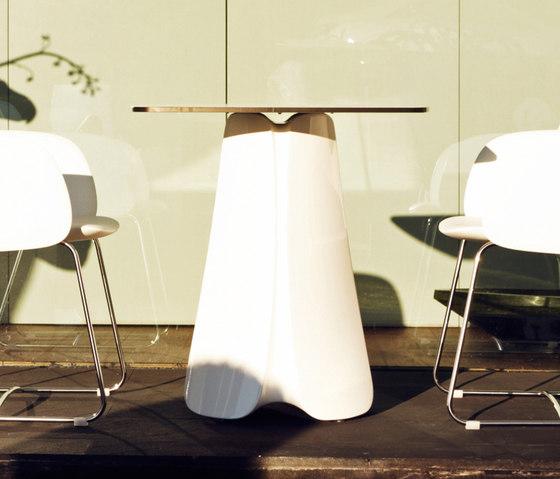 Pezzetina table by Vondom | Cafeteria tables