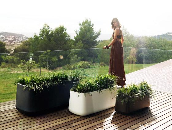 Ulm Jardinera by Vondom | Flowerpots / Planters