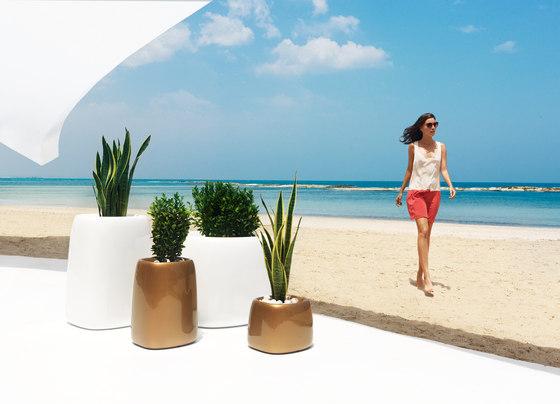 Organic Cuadrada by Vondom | Flowerpots / Planters