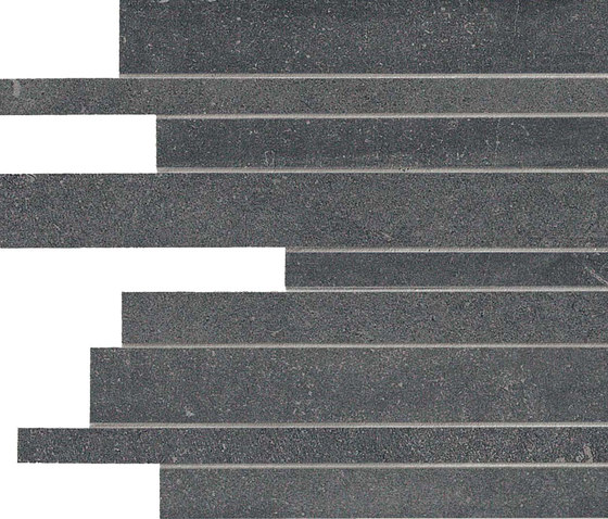 Back Anthracite Strips by Keope | Ceramic mosaics