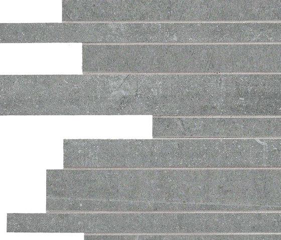 Back Silver Strips di Keope | Mosaici ceramica