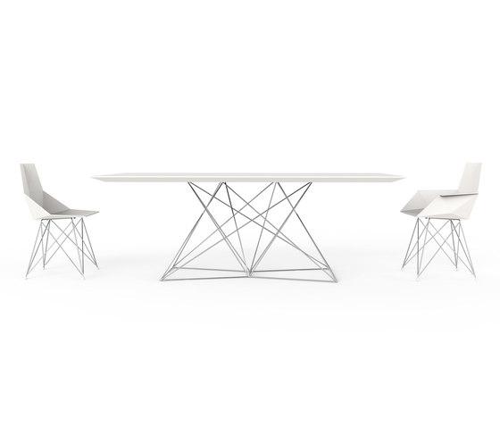 Faz table by Vondom | Dining tables