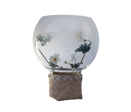Flower Trap | Opal with flowers by Utopia and Utility | Vases