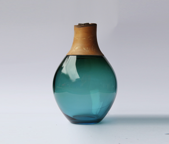 Small Stacking Vessel | SV1 Blue by Utopia and Utility | Vases