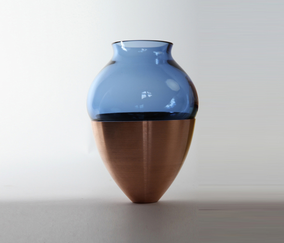 Small Stacking Vessel | SVC Blue by Utopia and Utility | Vases