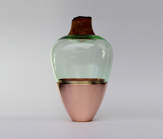 Stacking Vessels | SV India 1 Copper Jade by Utopia and Utility | Vases