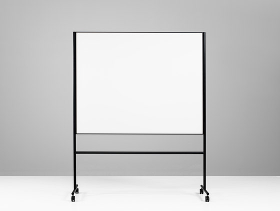 ONE Mobile Whiteboard double sided by Lintex | Flip charts / Writing boards