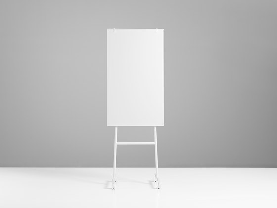 ONE Mobile Flip Chart by Lintex | White boards