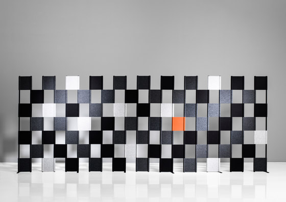 Zon Floor by Lintex | Space dividers