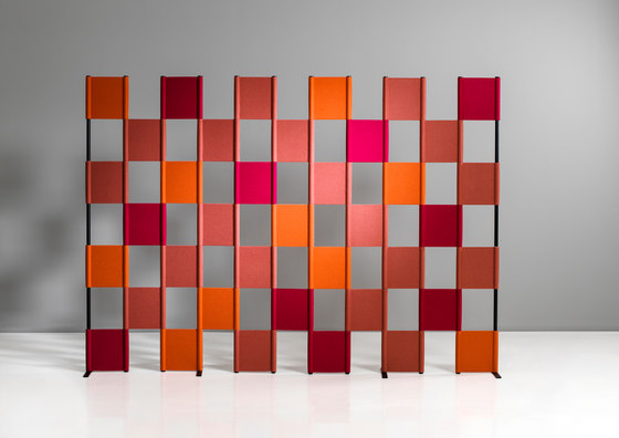 Zon Floor by Lintex   Space dividers