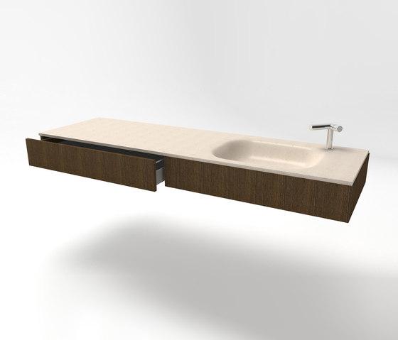 Masi alti mobile sospeso mobili lavabo zaninelli - Mobili alti bagno ...