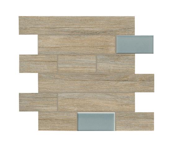 Bio Timber | Oak Provenzale mosaico wall by Lea Ceramiche | Floor tiles