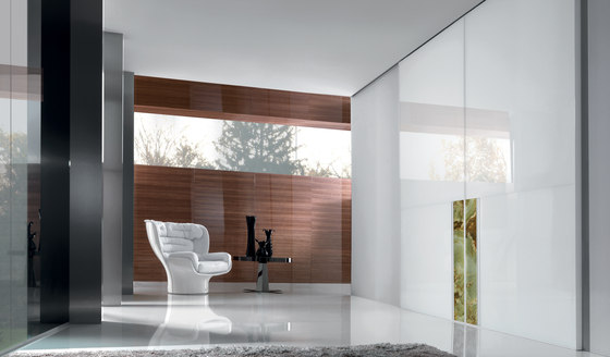 Ianus by Longhi S.p.a. | Glass dividing walls