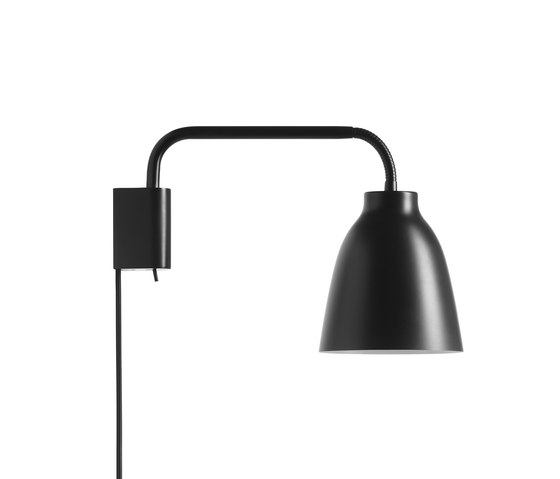 Caravaggio Read Wall Black by Fritz Hansen | Wall lights