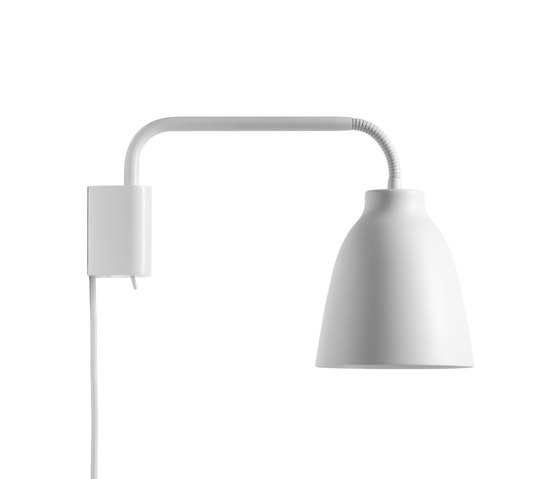 Small Wall Lamps With Cords : Caravaggio Wall by Lightyears Black White Black