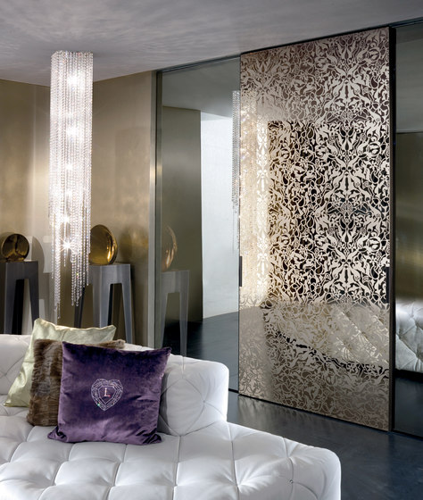 Headline by Longhi S.p.a. | Glass dividing walls