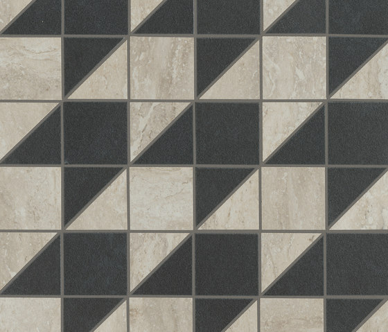 Origini | Light grey tweed by Lea Ceramiche | Ceramic mosaics