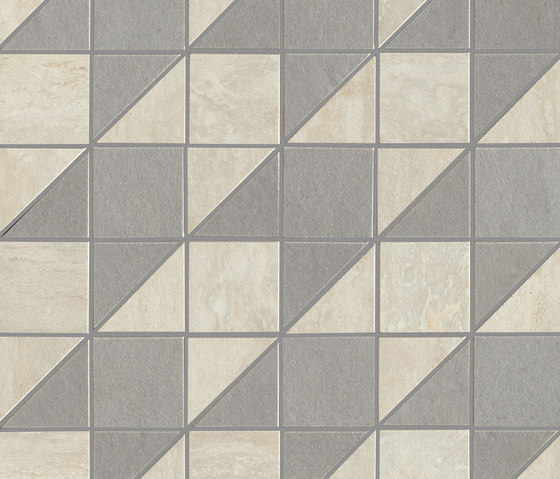 Origini | White tweed by Lea Ceramiche | Ceramic mosaics