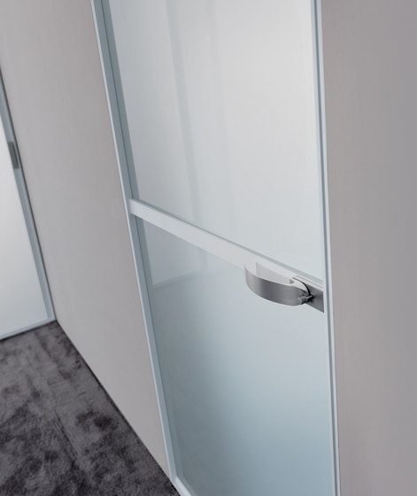 Wave by Longhi | Glass room doors