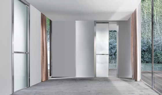Wave by Longhi S.p.a. | Glass room doors
