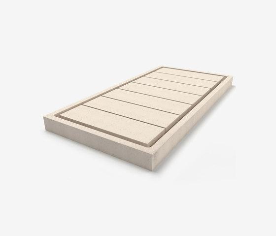 Domino shower tray by Zaninelli | Shower trays