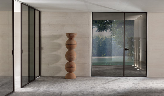 Spark by Longhi S.p.a. | Glass room doors