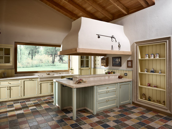 Past Color by Zaninelli | Island kitchens